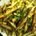 Baked Garlic and Parsley French Fries