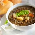 Dis Authentic Greek Lentil Soup (low Cal, Low Fat)