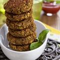Lentil Rice Burgers (Vegan)
