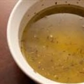 Mediterranean Olive Oil and Lemon Vinaigrette