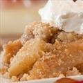 Microwave Honey Almond Apple Pie Alamode