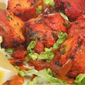 Tandoori Chicken Salad with Coriander and Lime Yoghurt Dressing