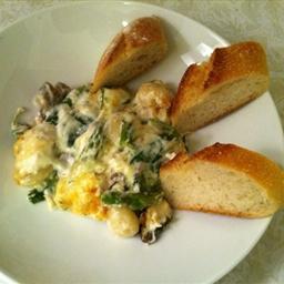 Gnocchi Gratin with Gorgonzola