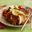 Apple and Onion-Stuffed Pork Chops with Orange-Pineapple Gravy