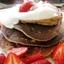 Banana Blueberry Almond Pancakes