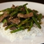 Beef, Snap Pea and Asparagus Stir-Fry