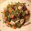 Beetroot, Sweet Potato, Chicken and Peas Salad