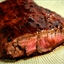 Bourbon and Brown Sugar Flank Steak