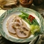 Bourbon-Glazed Fruit and Nut-Stuffed Pork Roast
