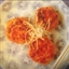 Chicken Cakes with Teriyaki Sauce