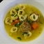 Chicken Meatball and Tortellini Soup