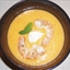 chilled cantaloupe soup with peaches