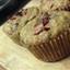 Coconut flour, bacon, banana, chocolate chip muffins