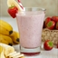 Diabetic Strawberry Banana Milkshake
