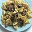 Farfalle Alfredo With Chicken, Mushrooms, and Peas