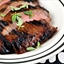 Flank Steak with Ponzu Honey Glaze