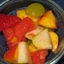 Fresh Fruit Salad W/ Honey-mint Dressing