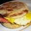 Fried Egg And Ham Sandwich