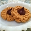 Gluten Free Peanut Butter Chocolate Kiss Cookies