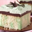 Grasshopper fudge cake