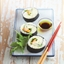 Green Lemon Marinated Scallop Sushi