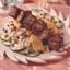 Grilled Pork, Couscous and Dried Cherry Salad with Citrus Vinaigrette