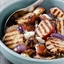 Grilled Potato and Onion Salad with Blue Cheese and Bacon