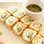 Herb Crab Salad Maki-Sushi with Tempura Shrimp Hand Rolls