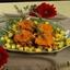 Jerk Chicken Thighs on Sweet Potato Pancakes