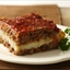Mashed Potato Stuffed Meat Loaf Squares