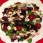 Mesclun Salad with Roquefort & Grapes