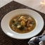 Monkfish Stew with Saffron Broth and Wild Mushrooms