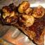 New York Strip Steaks W/cumin Rub and Pars