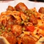 Pasta with Peas and Italian Sausage