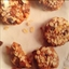 Raw Oatmeal Walnut Raisin Cookie