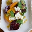 Roasted Carrot and Beet Salad with Feta, Pulled Parsley, and Cumin Vinaigre