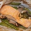 Salmon with Vegetables in Parchment