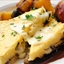Seriously Meatless: Polenta Triangles Stuffed With Spicy Greens and Cheese