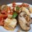 Spicy Stir-Fried Tofu with Snow Peas, Peanut Butter, and Mushrooms
