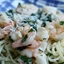 Spinach and Prawn Pasta