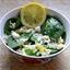 Spinach Salad with Orzo and Feta