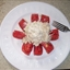 Tomato Stuffed with Chicken Salad