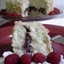 White Chocolate Raspberry Coconut Cake