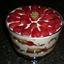 White Chocolate Strawberry Trifle