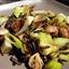 Wild Rice with Leeks And Mushrooms