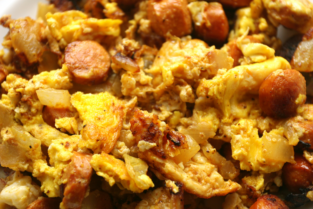 scrambled eggs with chorizo sausage ready in 1 hour scrambled eggs ...